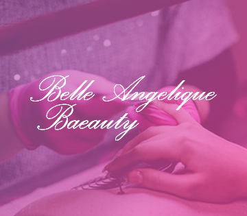 Webdesign for a mobile beauty therapist
